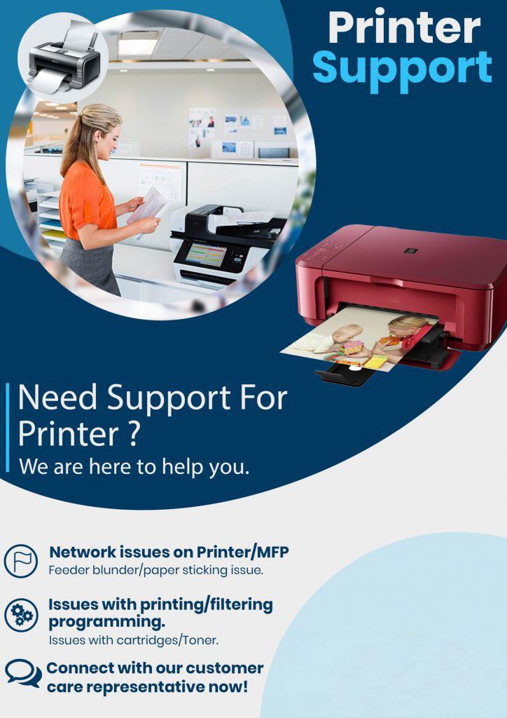 USA Printer support